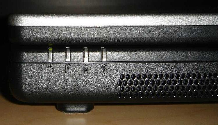 مفهوم چراغ های لپ تاپ چیست؟