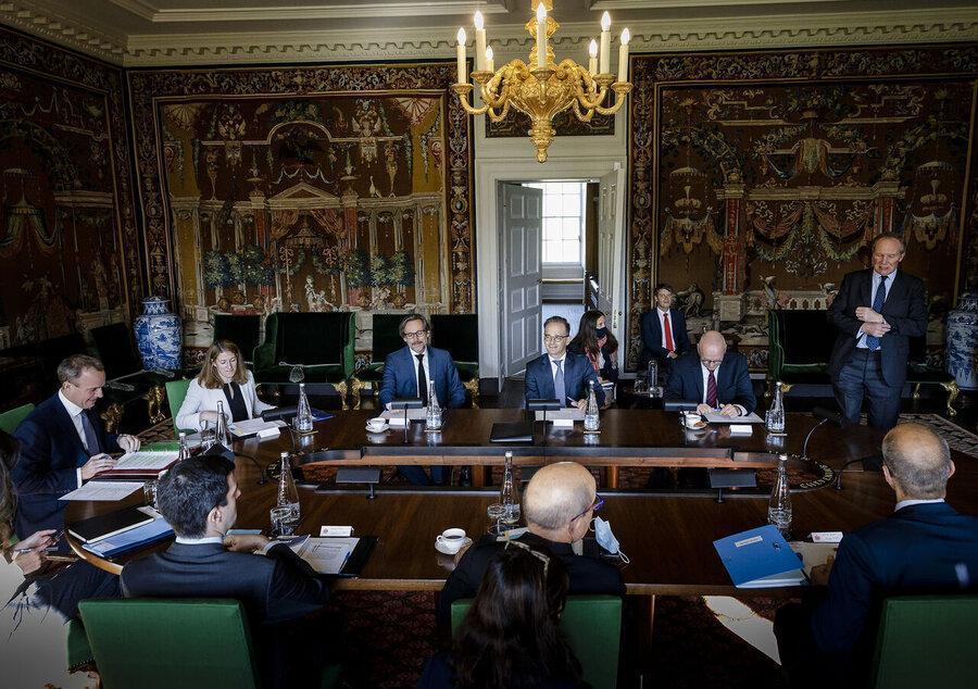 توافق تروئیکای اروپایی درباره رد فعالیت مکانیسم ماشه از سوی آمریکا