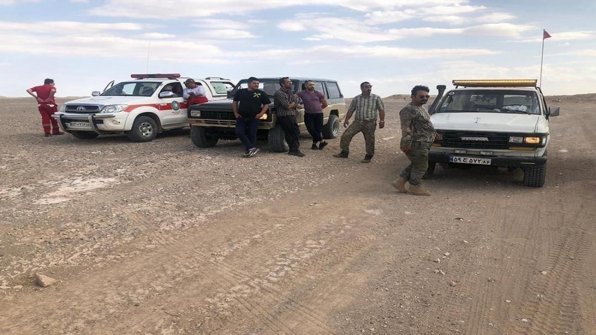 نجات 2 مفقودی در کویر استان سمنان