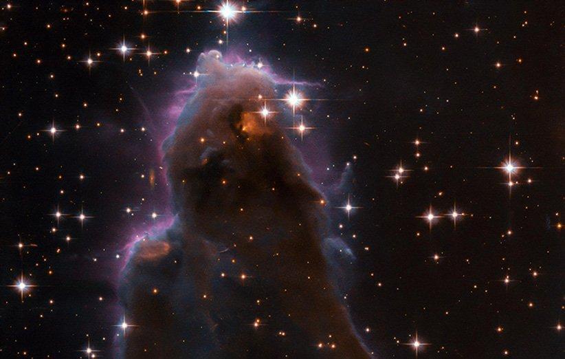 هابل تصویری تماشایی از یک طبقه بندی خاص ابرهای کیهانی منتشر کرد
