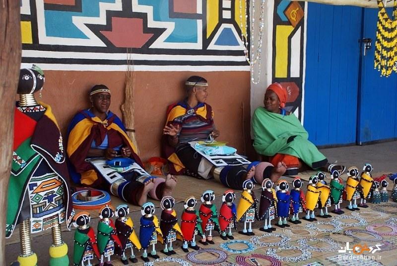 دهکده فرهنگی لسدی، رنگین کمان آفریقای جنوبی، عکس