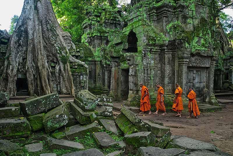 سیم ریپ کامبوج؛ شهری با جاذبه های بی همتا