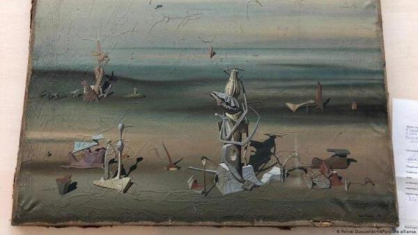 پیدا شدن نقاشی 280 هزار یورویی در سطل زباله