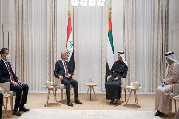 رئیس جمهور عراق بر لزوم کاهش تنش ها در منطقه تأکید کرد