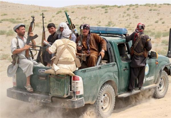 کشته شدن 7 نیروی خیزش مردمی در حمله طالبان به شمال افغانستان