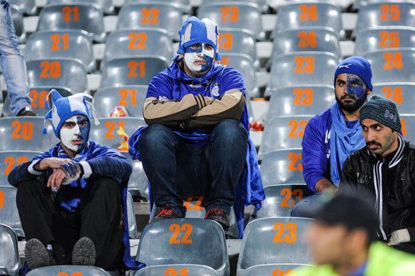 واکنش هواداران نگران استقلال به حواشی و نتایج اخیر آبی پوشان