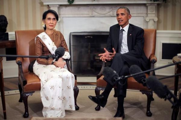 اوباما خشونت ارتش میانمار علیه معترضان ضد کودتا را محکوم کرد