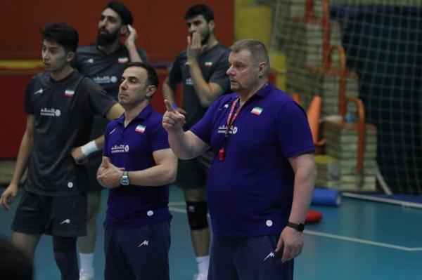 تغییر برنامه تمرینی در دستور کار سرمربی تیم ملی والیبال