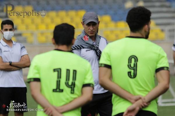 آخرین صحبت های مهم گل محمدی با بازیکنان پرسپولیس، یحیی در جلسه فنی چه گفت؟