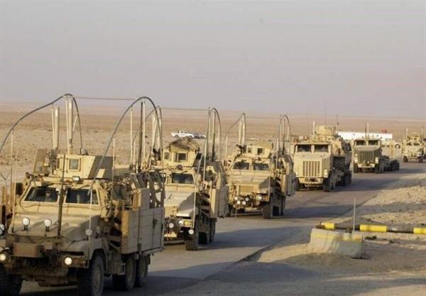 انفجار در جهت کاروان ارتش آمریکا در عراق
