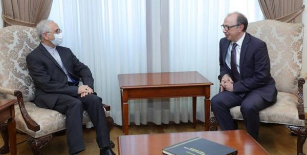 رایزنی دیپلمات های ایران و ارمنستان در مورد آخرین تحولات منطقه