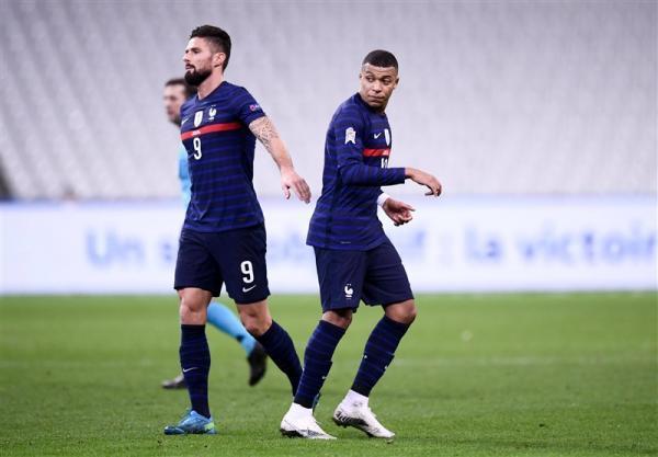 درگیری امباپه و ژیرو در اردوی تیم ملی فرانسه در آستانه شروع یورو