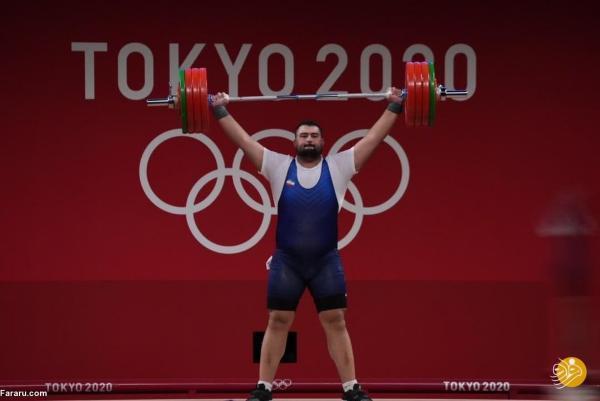 دومی وزنه بردار ایرانی در یک ضرب؛ داوودی به غول گرجی نرسید