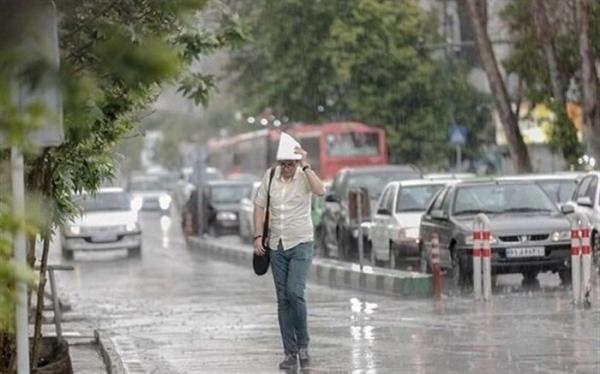 هواشناسی هشدار داد؛ وقوع رگبار و رعد و برق در 3 استان