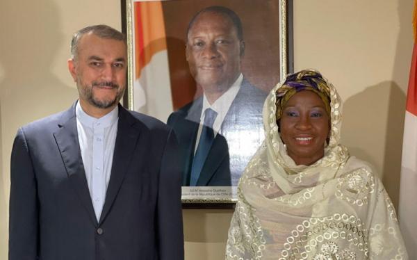 رایزنی ایران و ساحل عاج برای تقویت روابط دوجانبه